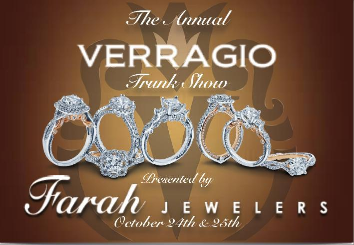 Trunk Show 2014 Verragio post card invite front